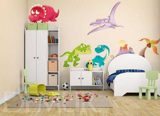 Naklejki dla dzieci - W Dino świecie