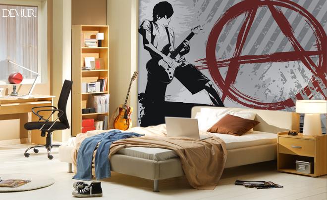 Młodzieżowy trend - pomysł na ścianę w pokoju młodzieżowym