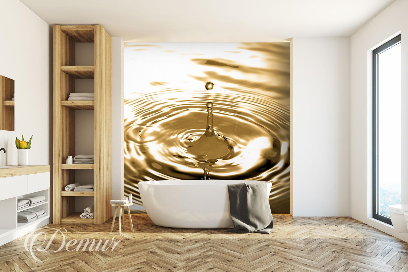 Fototapeta Kropla Wody - Pomysł na ścianę - Demur