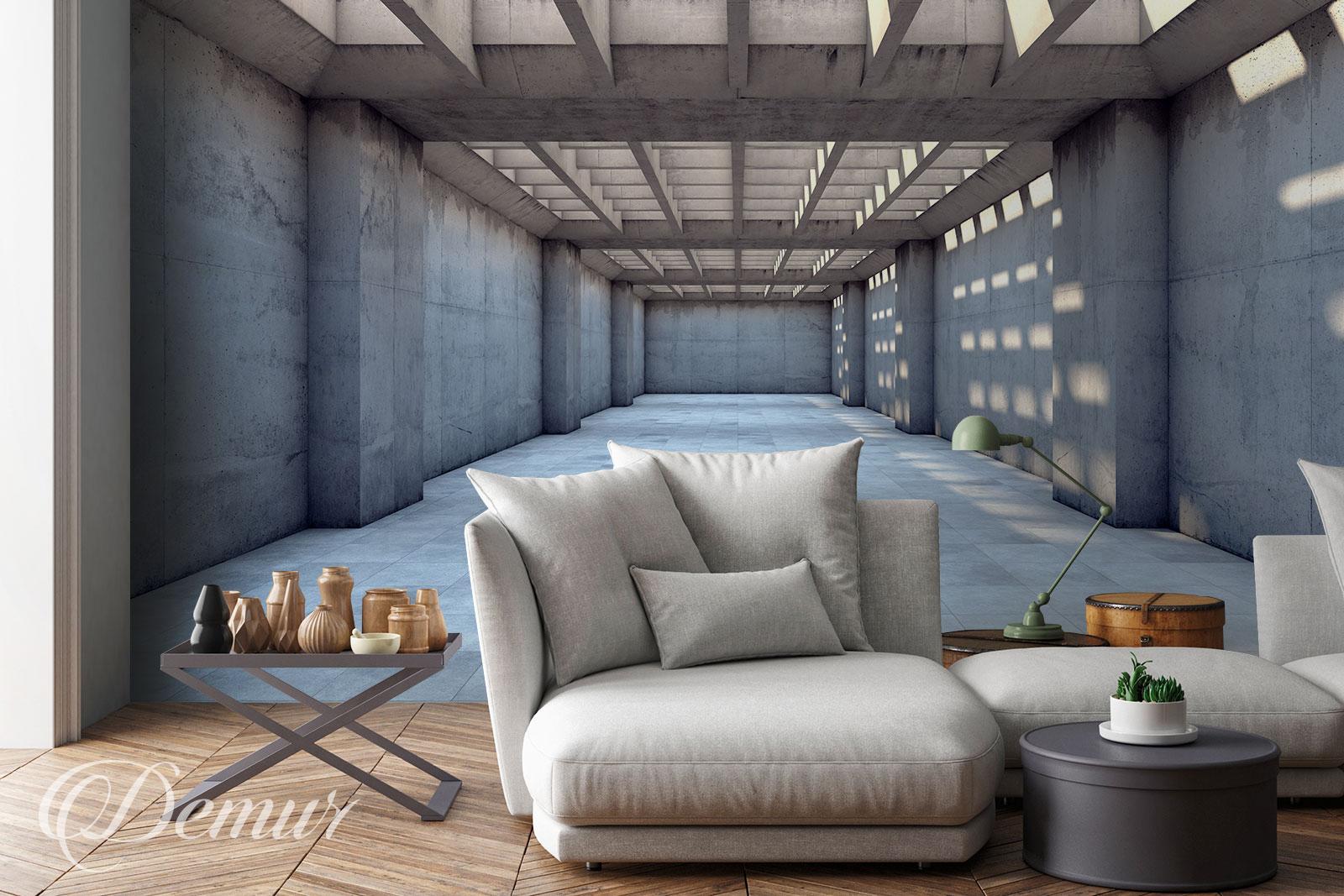 Fototapeta Tunel - Pomysł na ścianę - Demur