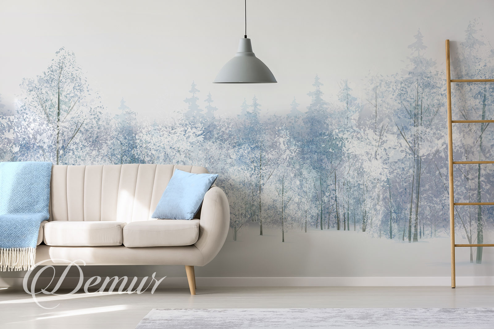 ściana W Salonie Pomysły Na Dekorację Demur Blog