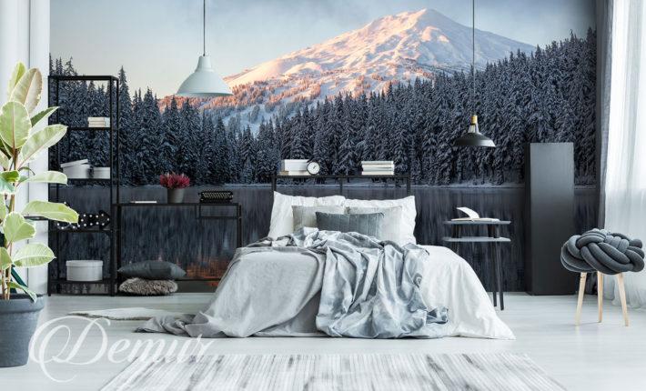 Fototapeta ziomwy krajobraz - Pomysł na ścianę w sypialni - Demur