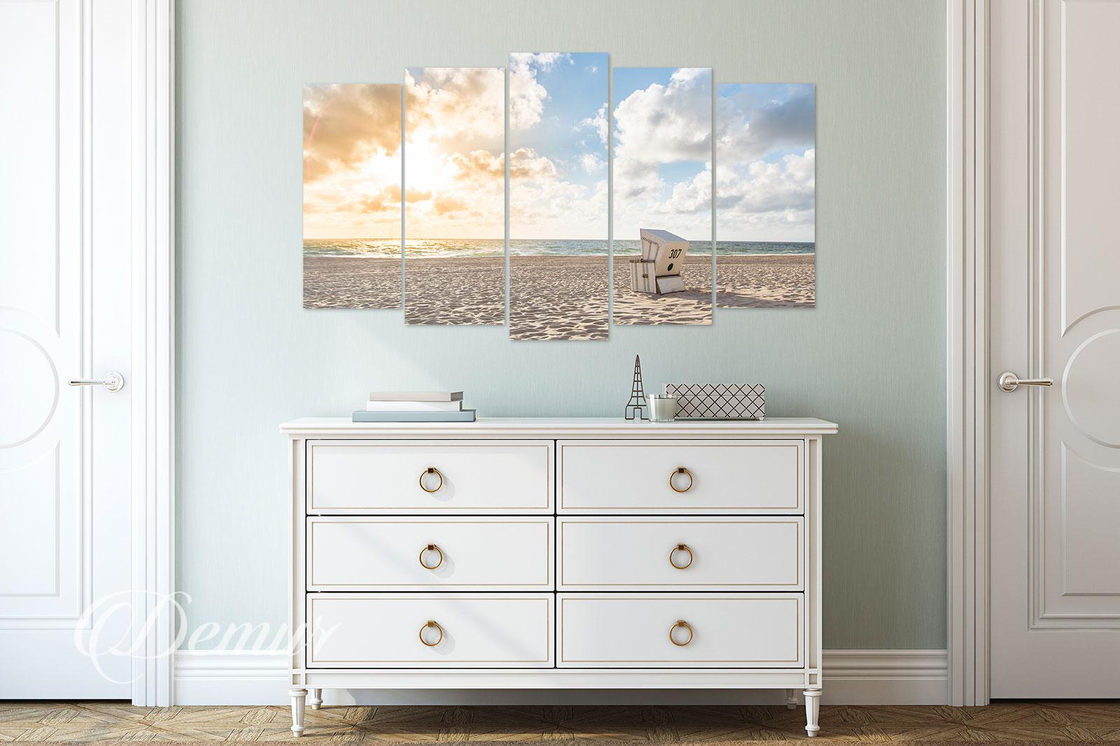 Obraz Morze - Pomysł na ścianę w korytarzu - Demur