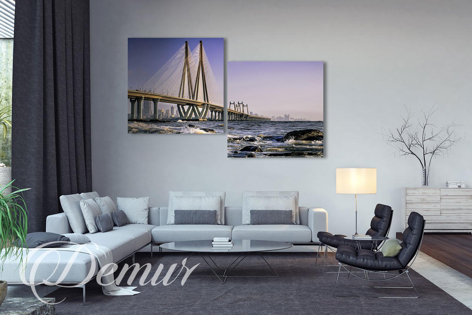 Obraz Most - Jaki obraz do salonu - Demur