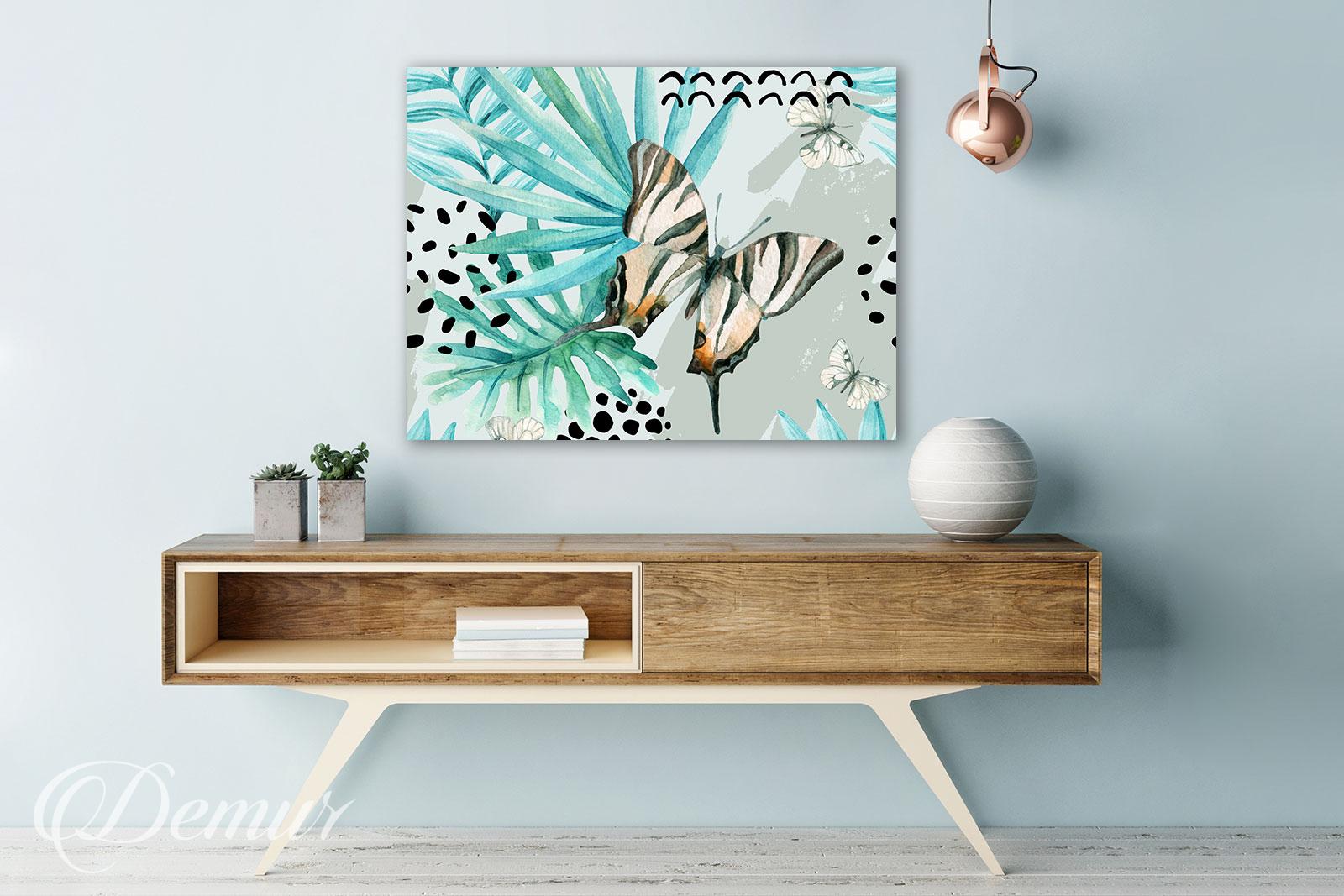 Obraz Motyl - Pomysł na ścianę - Demur