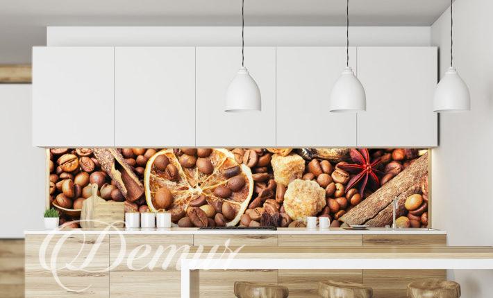 Fototapeta Aromat Kawy - Fototapety do kuchni pod szafki - Demur