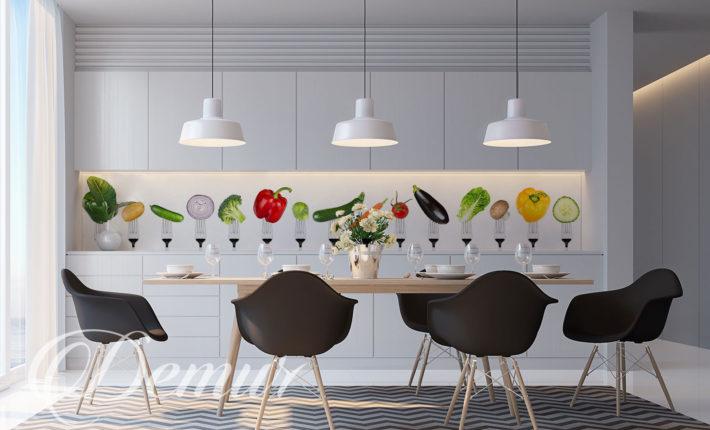 Fototapeta Warzywa - Fototapety do kuchni zmywalne - Demur