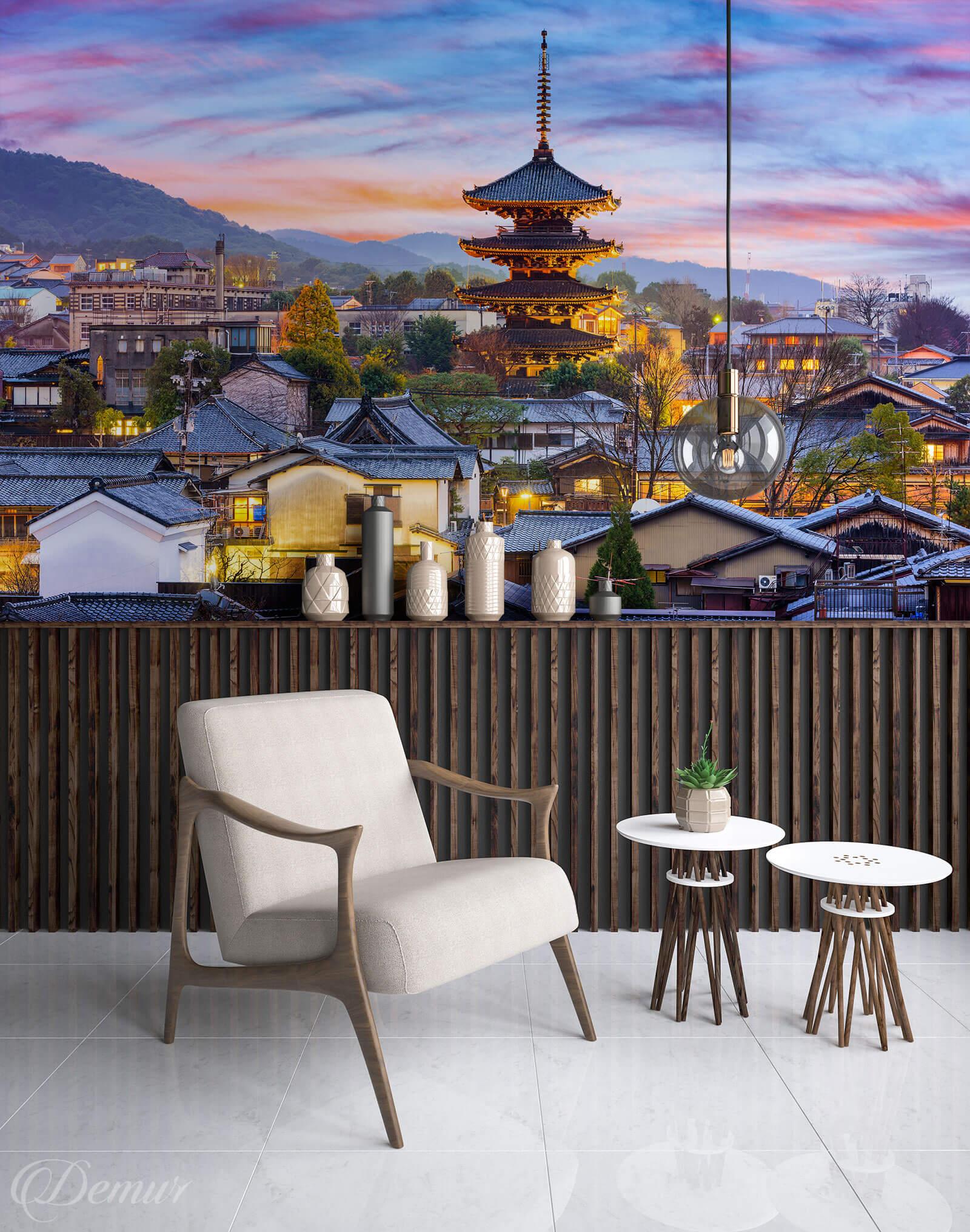 Fototapeta Japońska Architektura - Fototapety Japonia - Demur