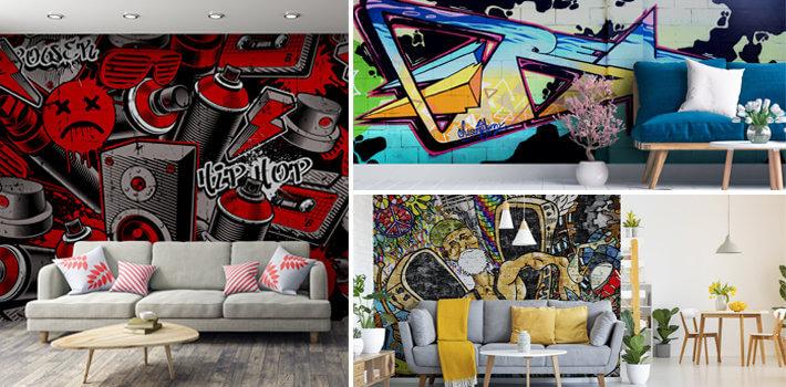 Fototapeta graffiti - Demur