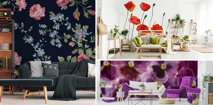 Fototapety kwiaty - Demur