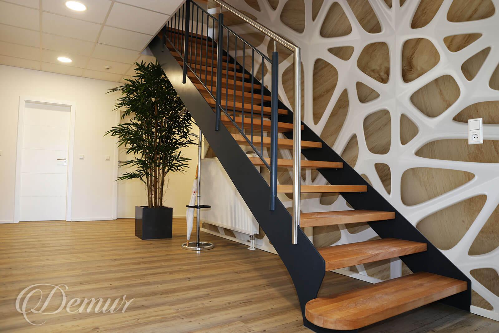 Fototapeta W trójwymiarowej sieci - Fototapety na klatce schodowej - Demur