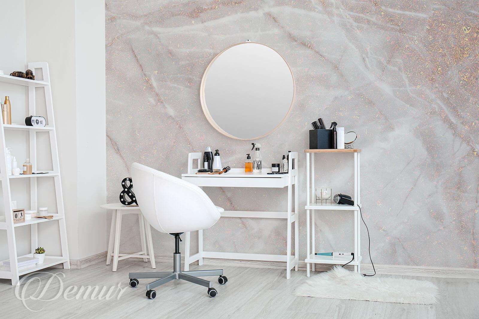 Fototapeta Błyszczący marmur - Fototapety do salonu kosmetycznego - Demur