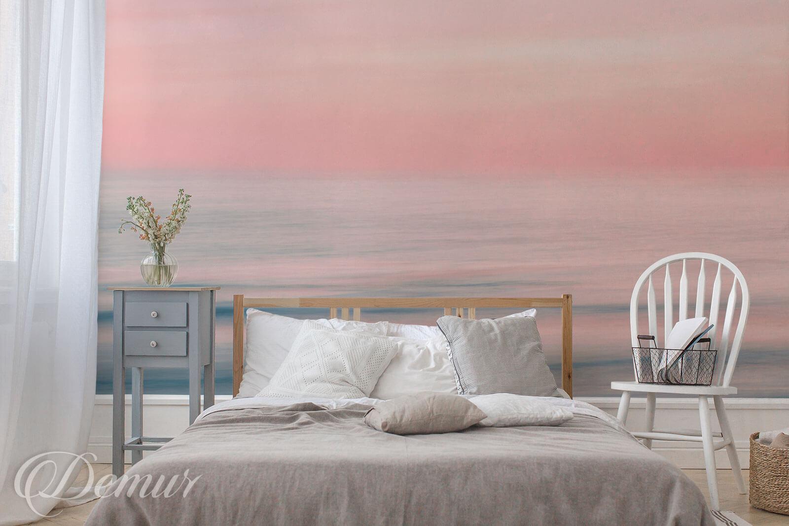 Fototapeta Pastelowy zachód słońca - Fototapety do sypialni - Demur