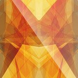 bright sun triangular square background button icon with flare  Abstrakcja Fototapeta