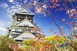 Osaka castle for adv or others purpose use  Orientalne Fototapeta