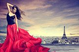 Girl in Paris  Ludzie Plakat