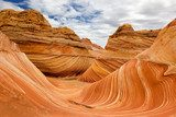 The Wave, USA, paria canyon, coyote buttes  Krajobraz Fototapeta