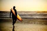 Surfer walking  Sport Fototapeta