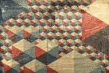 Abstract geometric pattern as background  Mur Fototapeta
