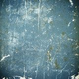 grunge blue paper texture, distressed background  Mur Fototapeta