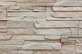 Stone wall pattern background  Mur Fototapeta