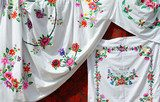 Belarus. Towels, satin stitch  Folklor Fototapeta