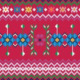 Seamless ethnic pattern background  Folklor Fototapeta