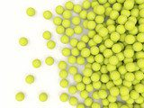 Heap of tennis balls with place for Your text  Sport Plakat