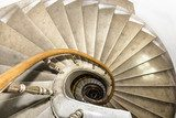 Stairwell in the Polish palace. Royal castle in Warsaw.  Schody Fototapeta