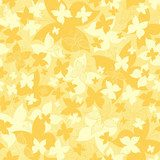 Vector pattern with stylized butterflies  Motyle Fototapeta