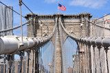 Brooklyn bridge, New York  Fototapety Mosty Fototapeta