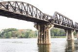 bridge over river kwai  Fototapety Mosty Fototapeta