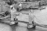 Aereal view of the London Bridge  Mosty Fototapeta