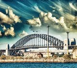 Sydney Harbour Bridge  Fototapety Mosty Fototapeta