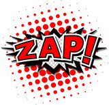 Zap! - Comic Speech Bubble, Cartoon  Fototapety Komiks Fototapeta