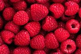 raspberry background  Plakaty do kuchni Plakat