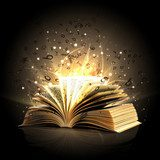 Magic book with magic lights  Biuro Plakat