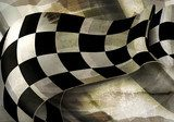 Background Horizontal Checkered, old-style vector  Tekstury Fototapeta