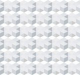 white geometric seamless pattern background, vector background  Na laptopa Naklejka