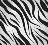 Zebra pattern vector background  Na laptopa Naklejka