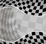 vector checkered racing background. EPS10  Na stół, biurko Naklejka