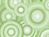 Abstract Retro Vector Background with circles  Na stół, biurko Naklejka