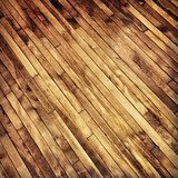 Old hardwood floor  Na meble Naklejka