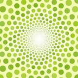 Abstract green background of small circles  Na meble Naklejka