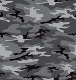 Grey camouflage pattern seemless  Na meble Naklejka