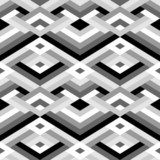 Geometric Seamless Pattern  Na meble Naklejka