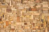 Wood Texture - ecological Background  Na meble Naklejka