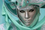 Beautiful clasical mask in Venice  Ludzie Obraz
