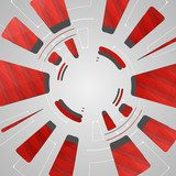 Abstract technology background  Abstrakcja Fototapeta