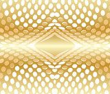 Abstract background circles red gold  Abstrakcja Fototapeta